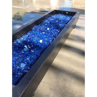 1/2 in. 10 lbs. Large Cobalt Blue Reflective Fire Glass