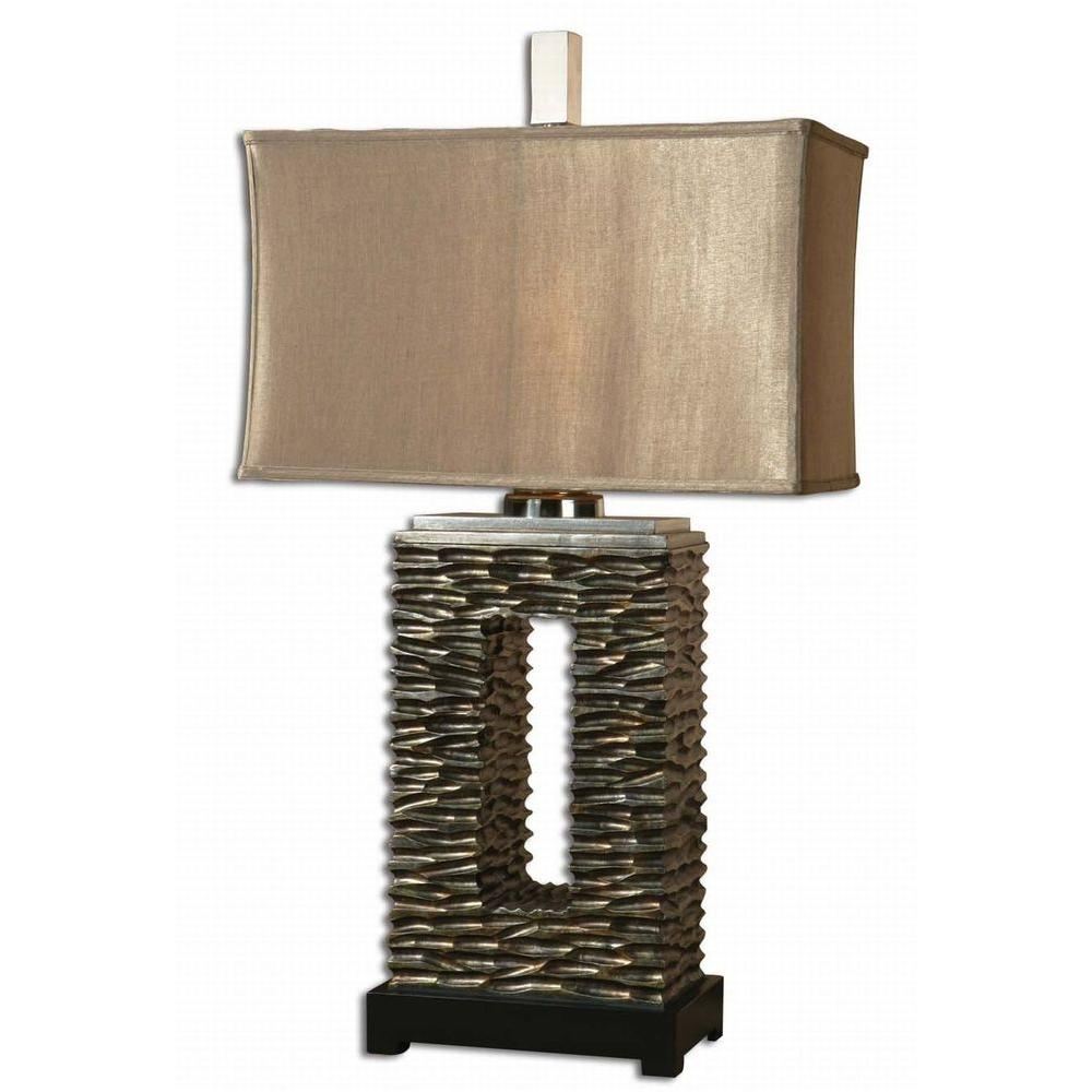 Global Direct 35 in. Tarin Aged Bronze Table Lamp