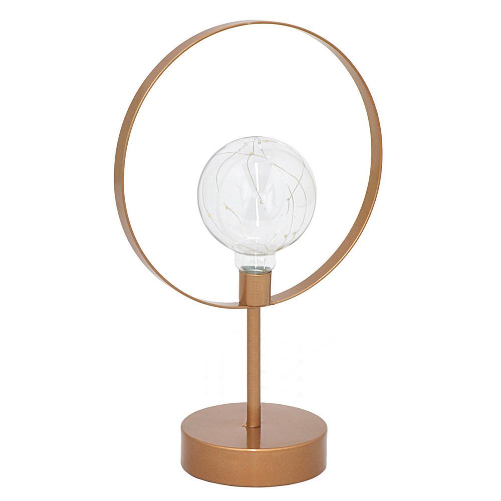 Copper Metal LED Lamp