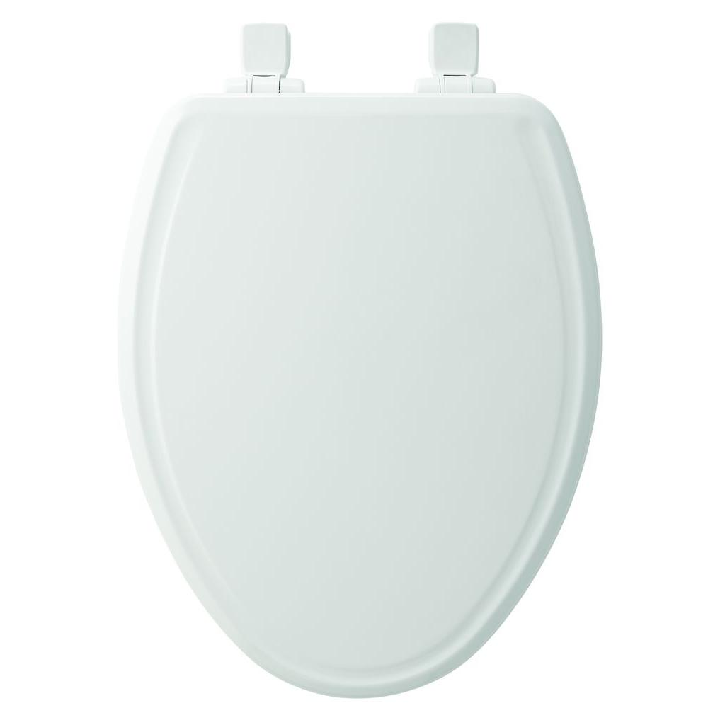 Stupendous Church Elongated Closed Front Toilet Seat In White Pdpeps Interior Chair Design Pdpepsorg