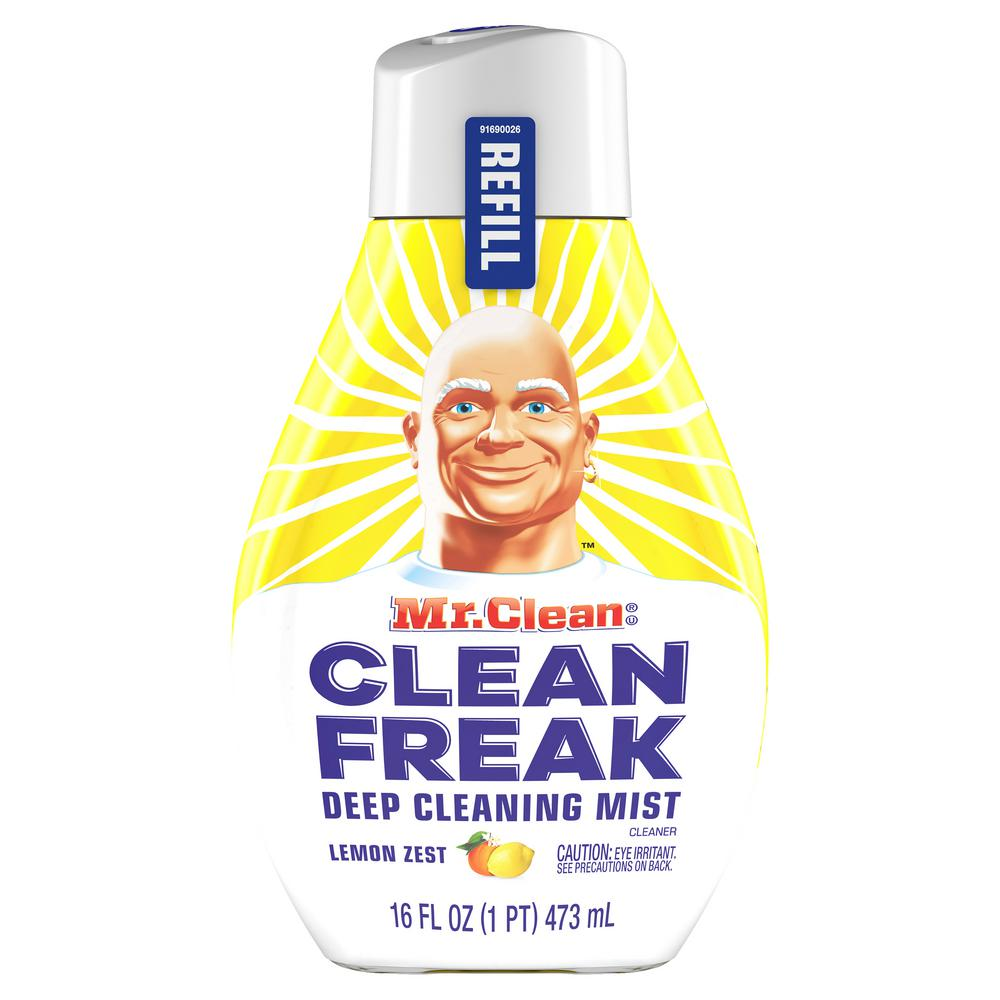 Mr. Clean Clean Freak 16 oz. Lemon Zest Scent Deep Cleaning Mist Multi-Surface Spray Refill