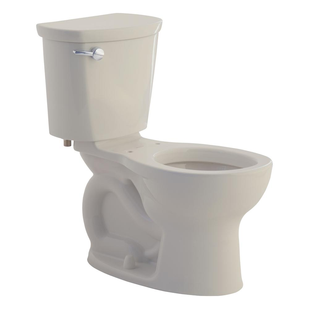Cadet Pro 2-Piece 1.6 GPF Single Flush Round Toilet in Linen