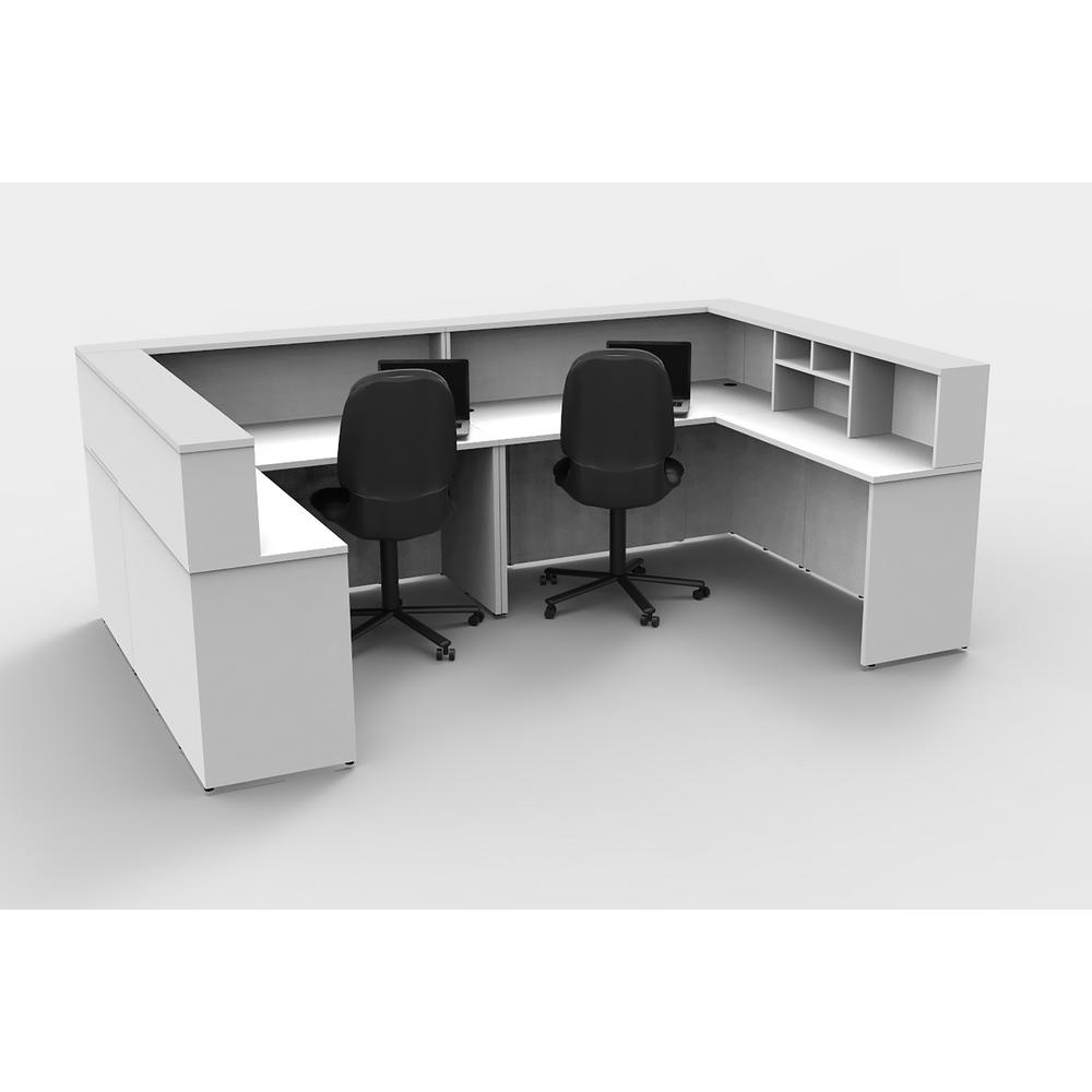 Office desk stores Traditional Office 8piece White Office Reception Desk Collaboration Center Scan Design Ofislite 8piece White Office Reception Desk Collaboration Center