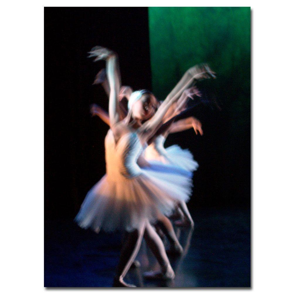 18 in. x 24 in. Abstract Dancers Canvas Art