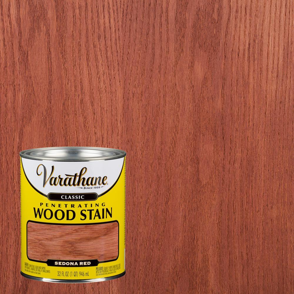 Varathane 1 qt. Sedona Red Classic Wood Interior Stain (2-Pack)