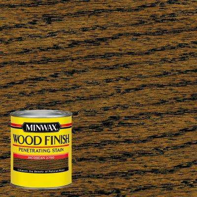 1-qt. Wood Finish Jacobean Oil Based Interior Stain (4-Pack)