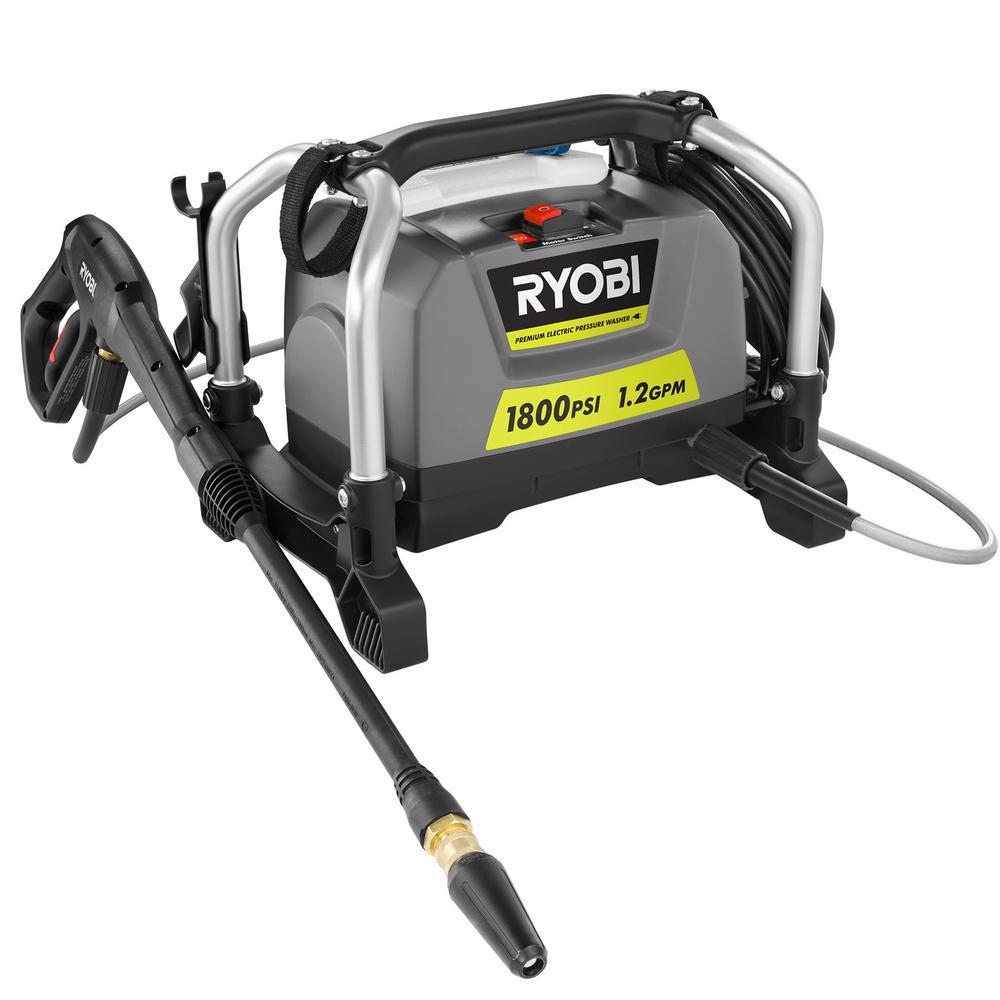 RYOBI Reconditioned 1,800 PSI 1.2 GPM Electric Pressure Washer