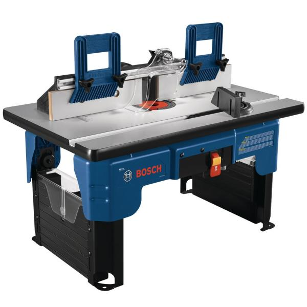 26 in. x 16.5 in. Laminated MDF Top Portable Jobsite Router Table with 2-1/2 in. Vacuum Hose Port