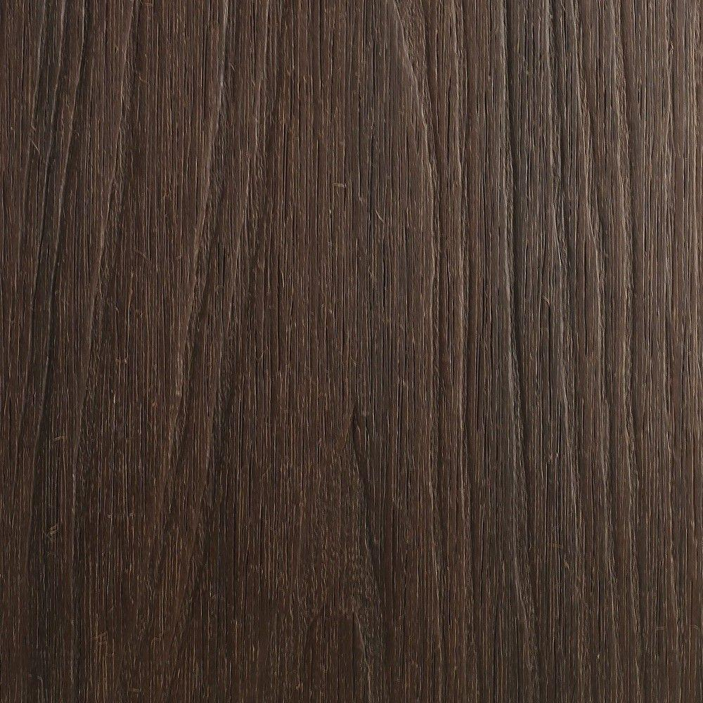 NewTechWood UltraShield Naturale Cortes Series 1 in. x 6 in. x 1 ft. Spanish Walnut Solid Composite Decking Board Sample