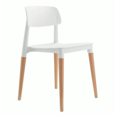 Remarkable Cozyblock Bel Series White Modern Accent Dining Side Chair Cjindustries Chair Design For Home Cjindustriesco