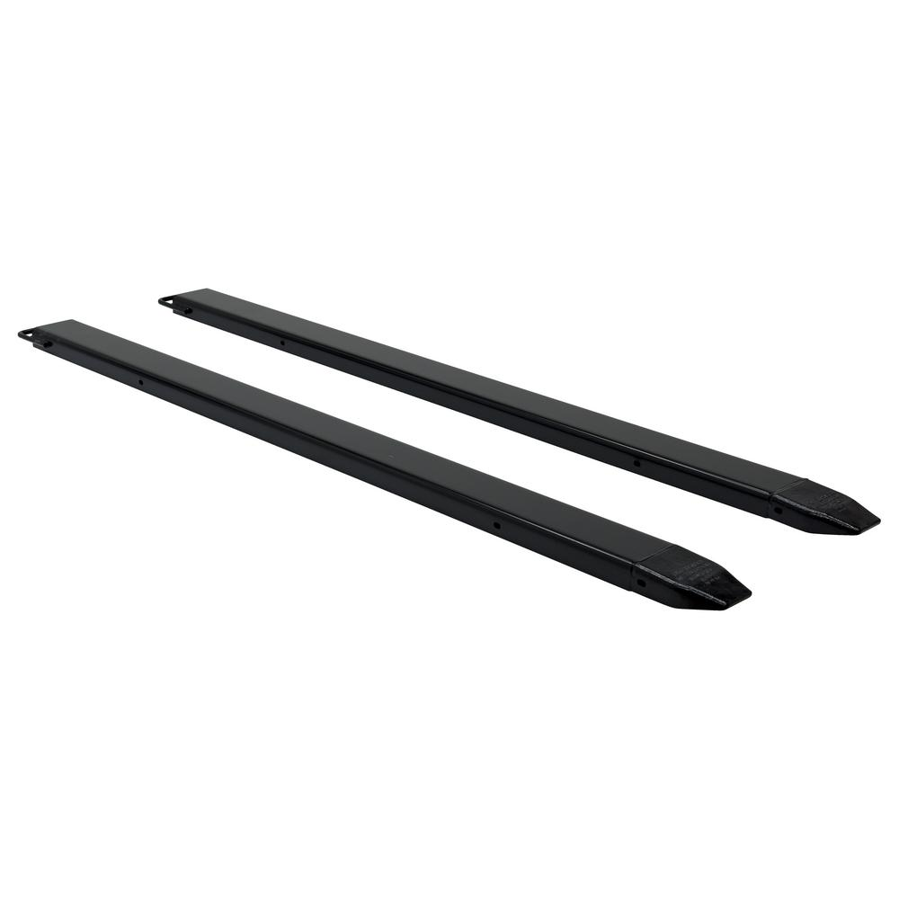 108 in. x 5 in. Pin Style Pair of Fork Extensions