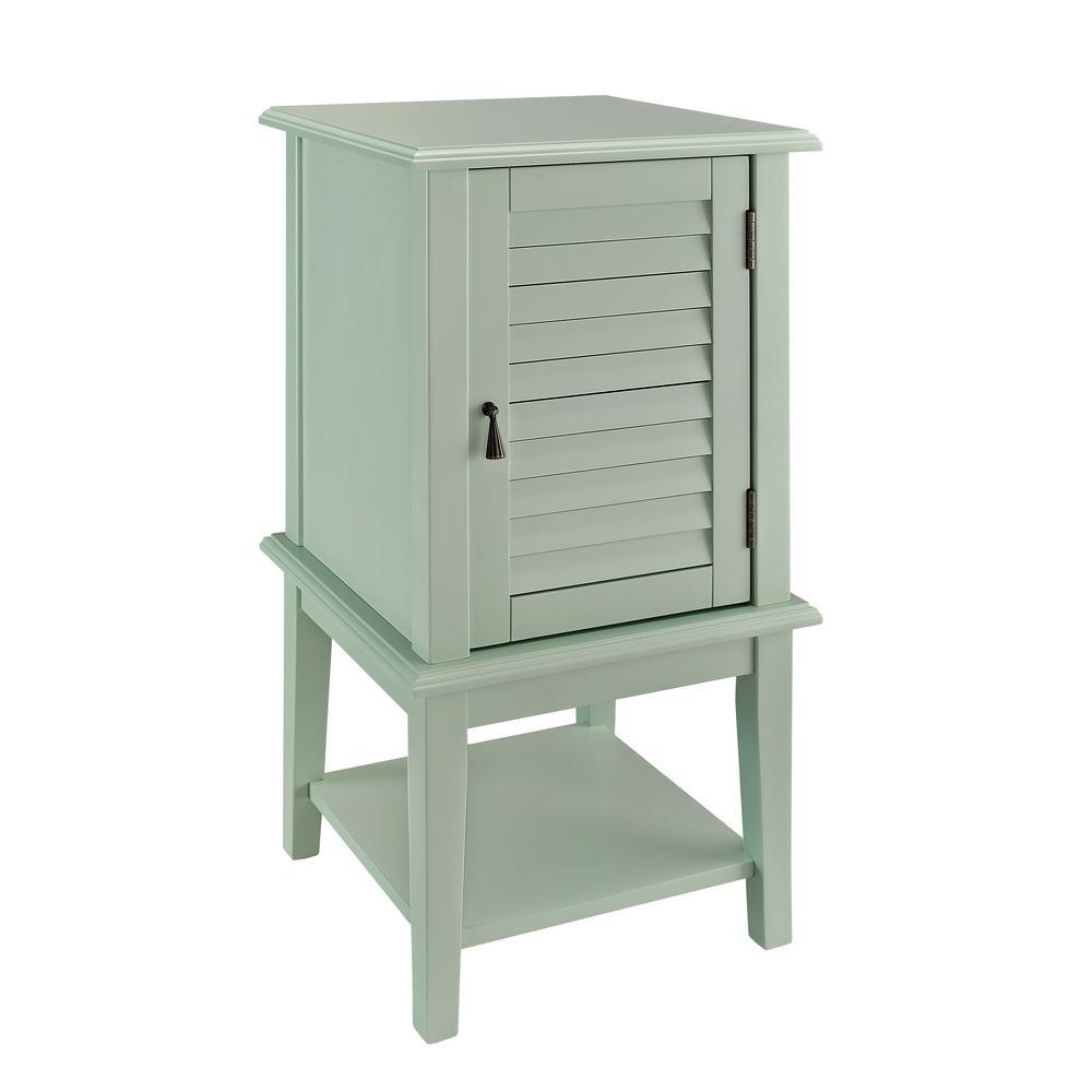 Aqua Shutter Door Table