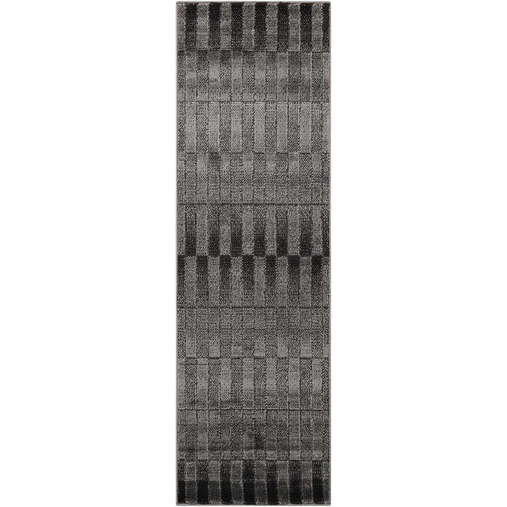 Nourison Studio Smoke 2 ft. x 7 ft. Runner Rug