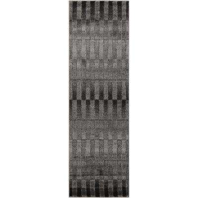 Studio Smoke 2 ft. x 7 ft. Runner Rug