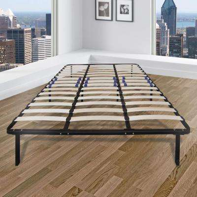 Eastern King Metal and Wood Bed Frame