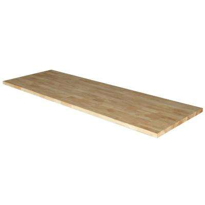 72 in. Solid Wood Top for 6 ft. Solid Wood Top Workbench