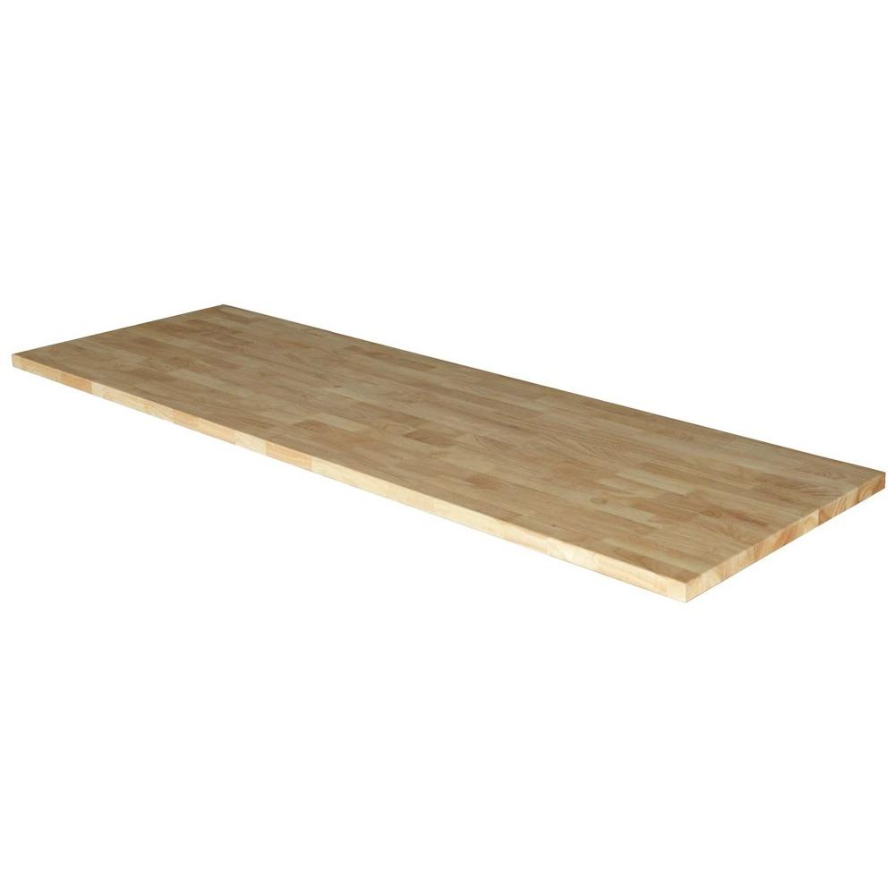 Husky 72 In Solid Wood Top For 6 Ft Solid Wood Top Workbench G7200as Us The Home Depot