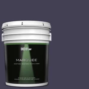 Behr Marquee 5 Gal Mq5 39 Artistic License Semi Gloss Enamel Exterior Paint Primer 545305 The Home Depot
