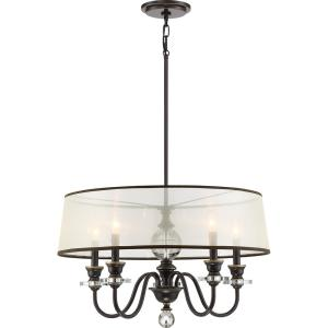 Ceremony 5-Light Palladian Bronze Chandelier