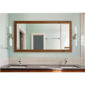 78 In X 39 In Weathered White Farmhouse Double Vanity Mirror Dv093