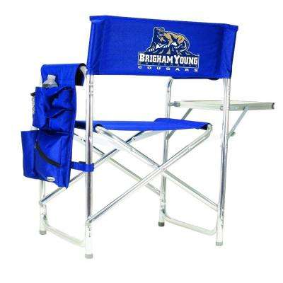 Brigham Young University Navy Sports Chair with Digital Logo