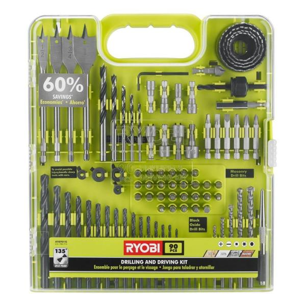 Drill and Drive Kit (90-Piece)