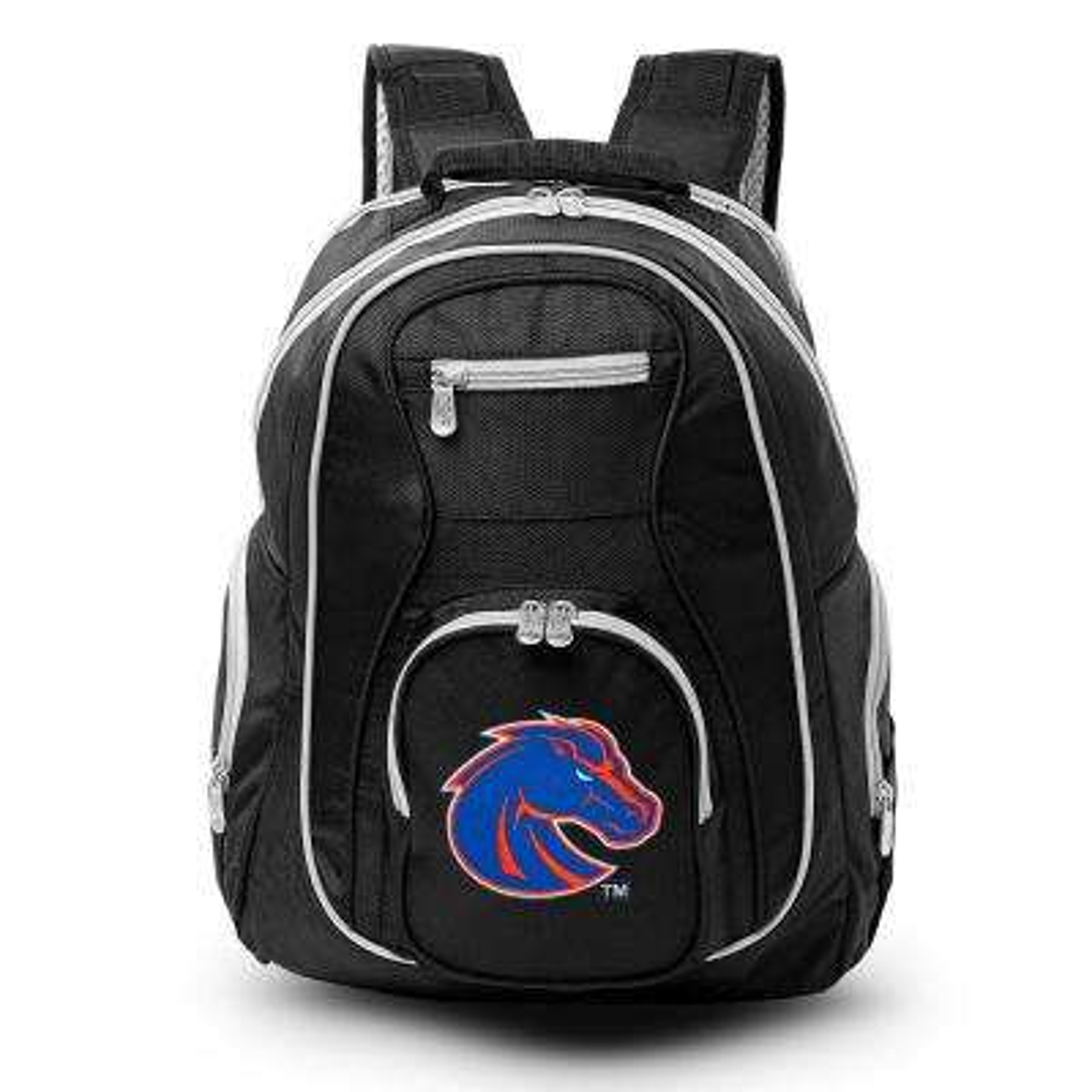 NCAA Boise State Broncos 19 in. Black Trim Color Laptop Backpack