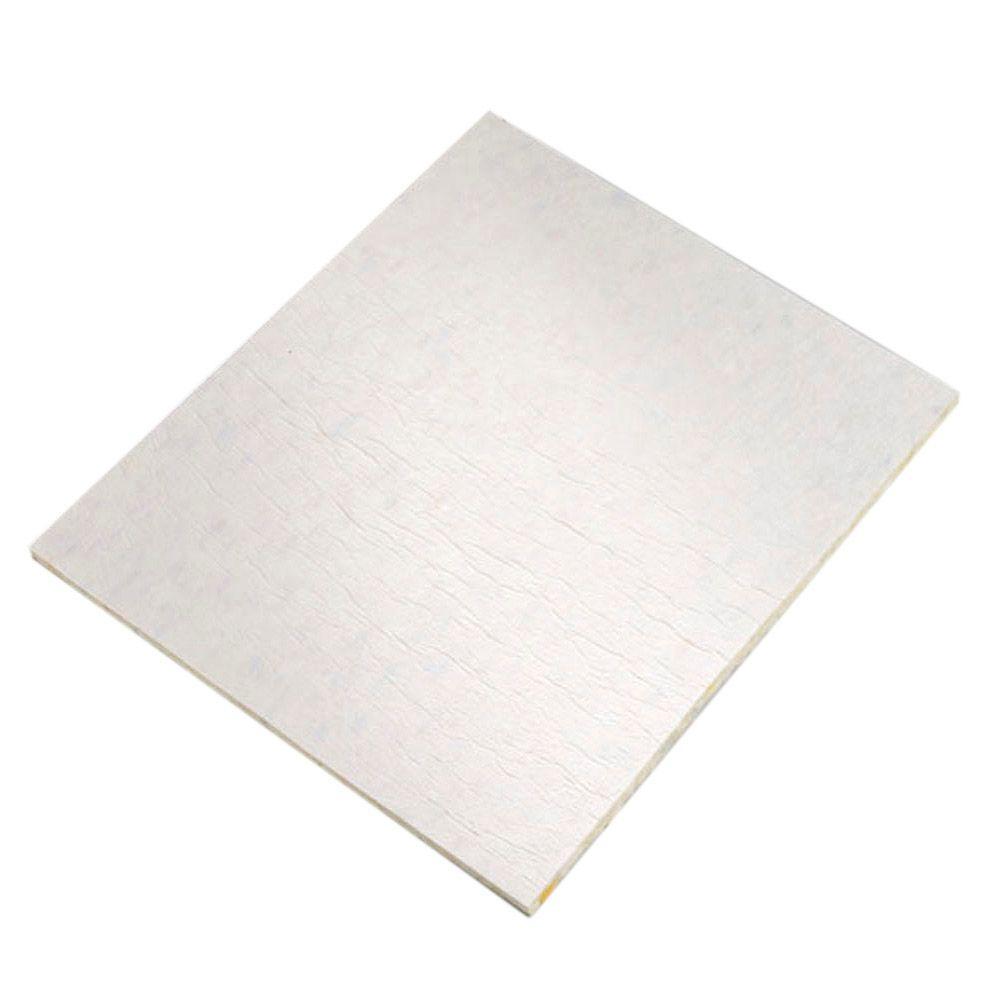 FUTURE FOAM 1/2 in. Thick 8 lb. Density Memory Foam with Moisture