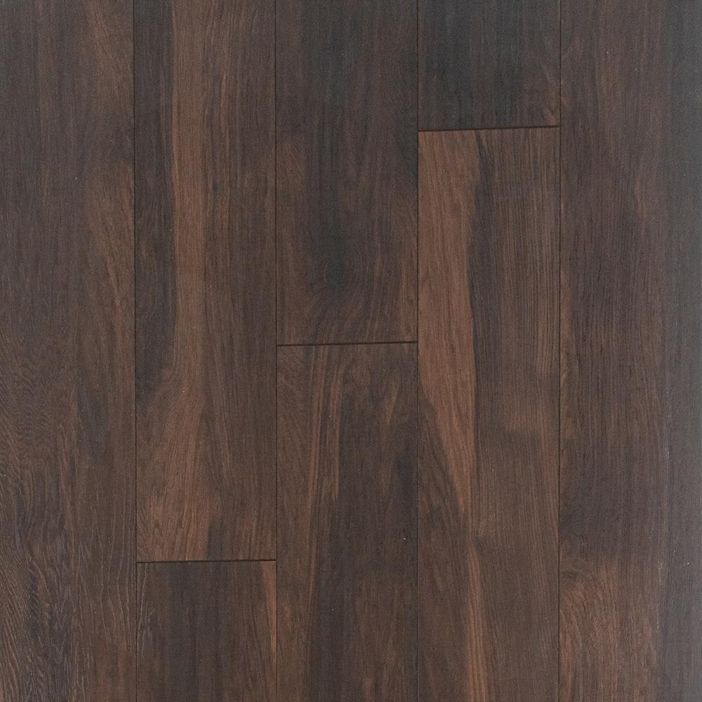 Home Decorators Collection Hillborn Hickory Laminate Flooring - 5 in. x 7 in. Take Home Sample, Dark