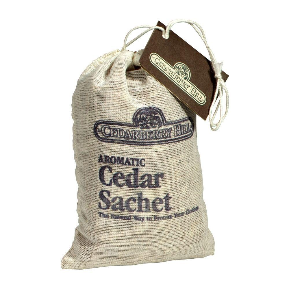 Cedarberry Hill Aromatic Cedar Sachet Bag 12 Pack