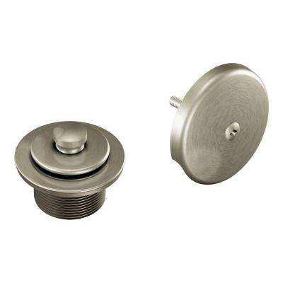 Tub/Shower Drain Covers in Brushed Nickel