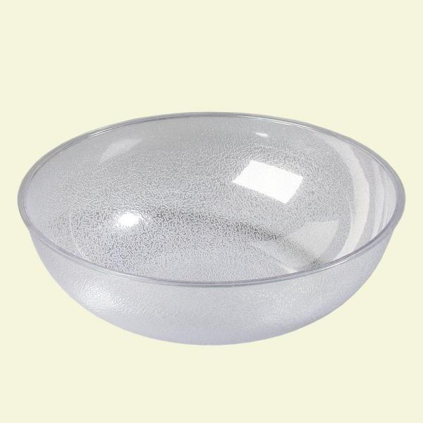 Carlisle 33 qt., 23.75 in. Diameter Polycarbonate Round Display and Serving