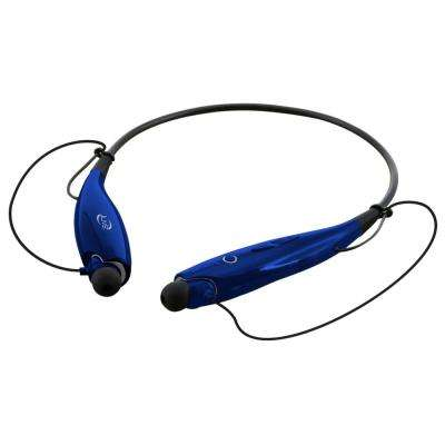 Bluetooth Wireless Neckband Earbuds, Blue