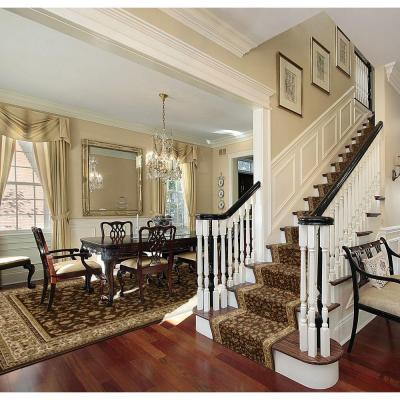 Sapphire Sarouk Chocolate 26 in. x Your Choice Length Stair Runner