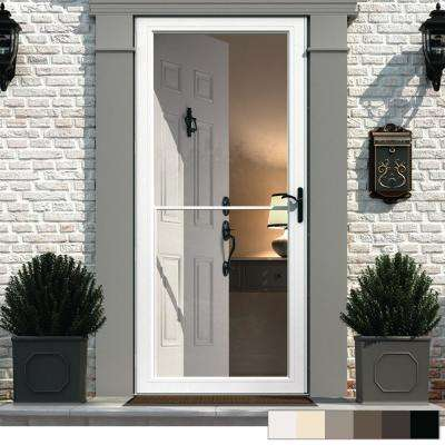 Incroyable 3000 Series Full View Retractable Aluminum Storm Door