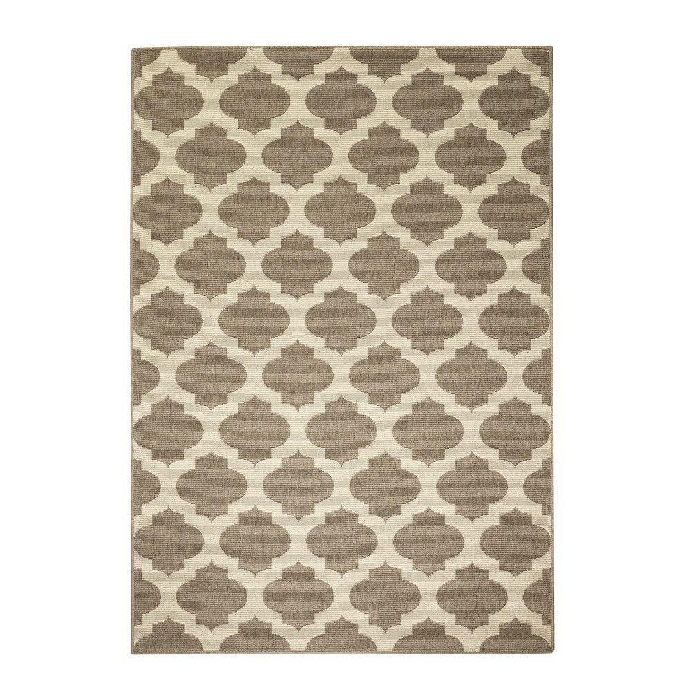 Home Decorators Collection Ciudad Beige/Natural 8 ft. x 11 ft. Area Rug
