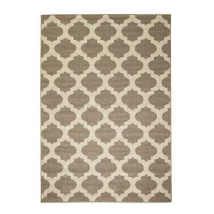 Ciudad Beige/Natural 8 ft. 9 in. x 12 ft. 9 in. Area Rug