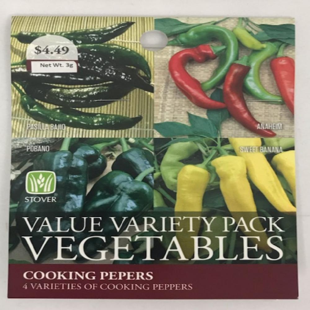 Stover Peppers Cooking Combo Seed Pack