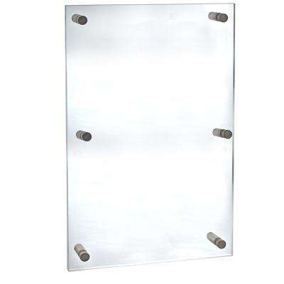 30 in. x 40 in. Standoff Acrylic Sign Holder