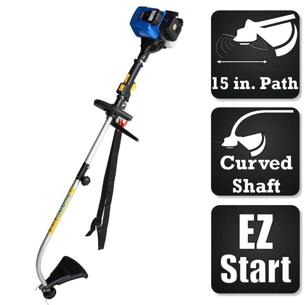 2-Cycle 25cc Curved Shaft Gas Trimmer