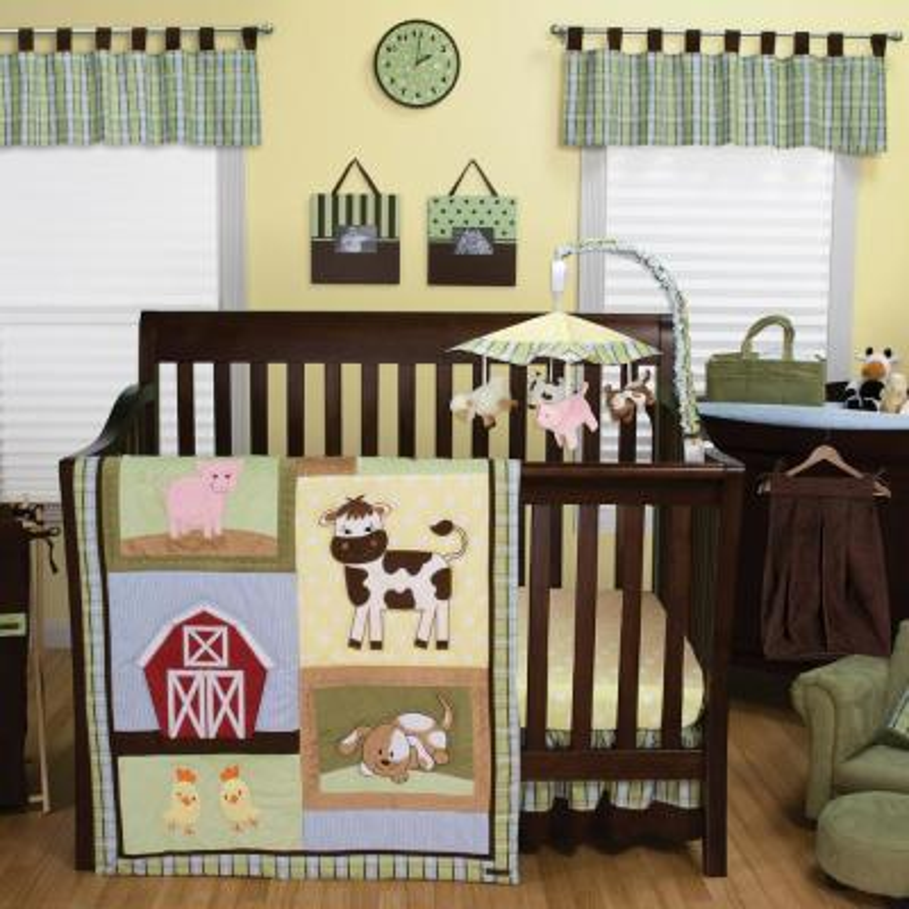 Baby Barnyard 3-Piece Crib Set