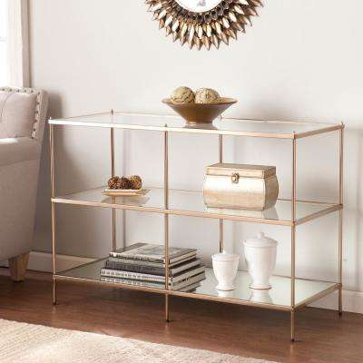 Pandora Gold Metallic Console Table