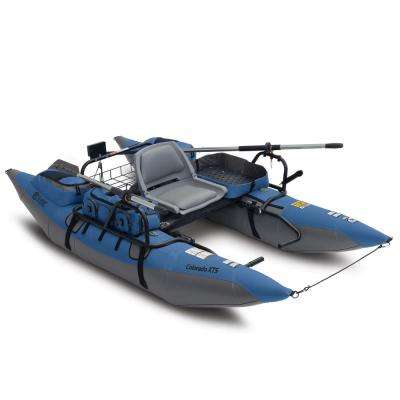 Colorado XTS Pontoon Boat with Swivel Seat