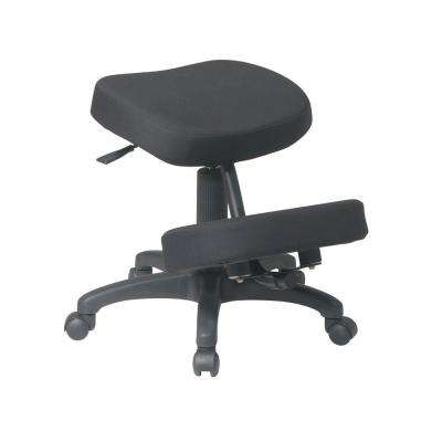 Black Knee Chair