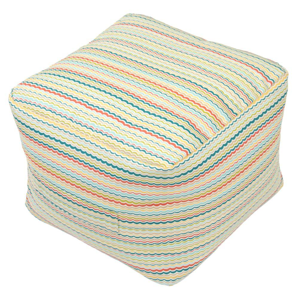 Outdoor Poufs - Outdoor Cushions - The Home Depot