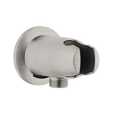 Moravia Union/Holder in Brushed Nickel