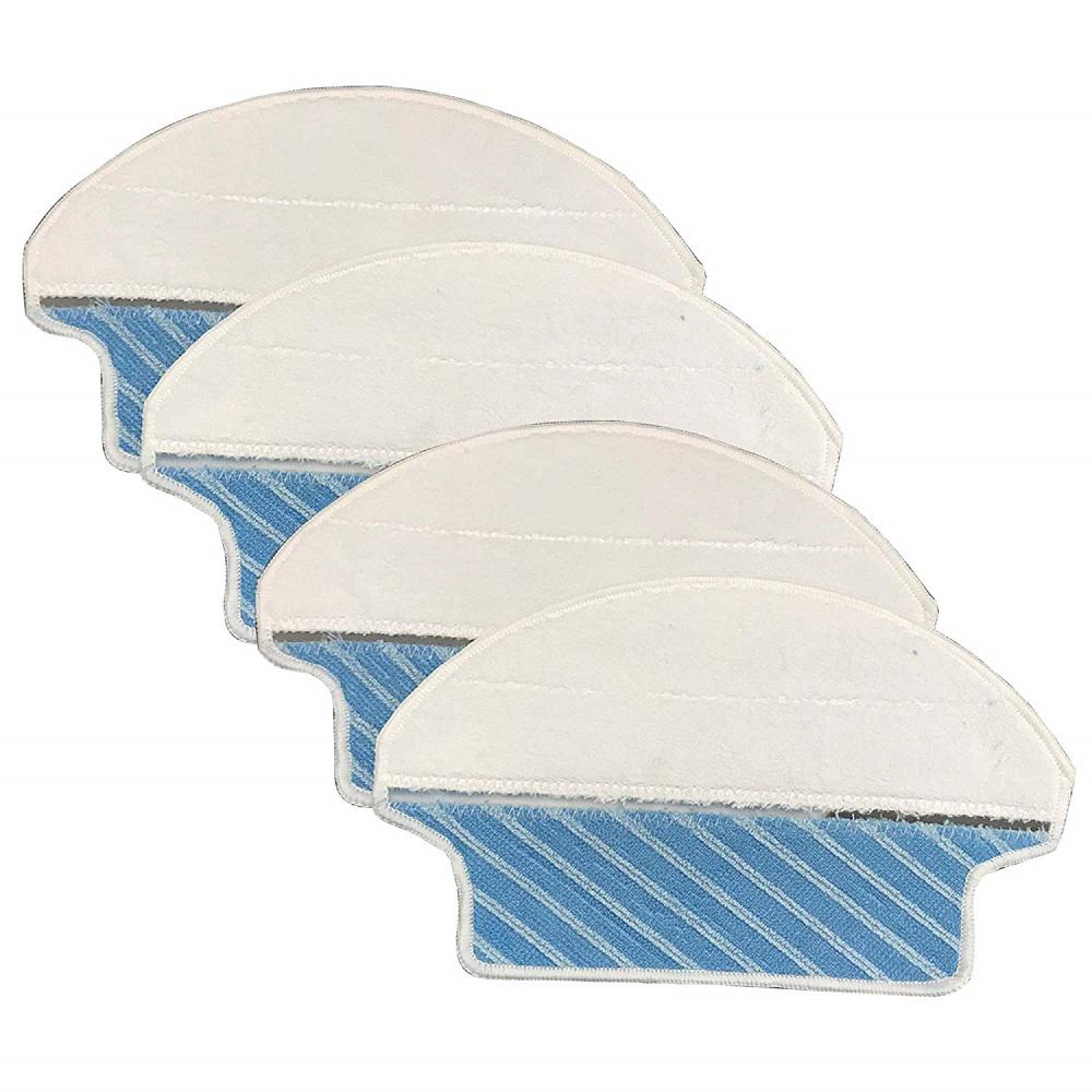 Ecovacs Deebot Wet and Dry Microfiber Mopping Pads Replacement for DT85,