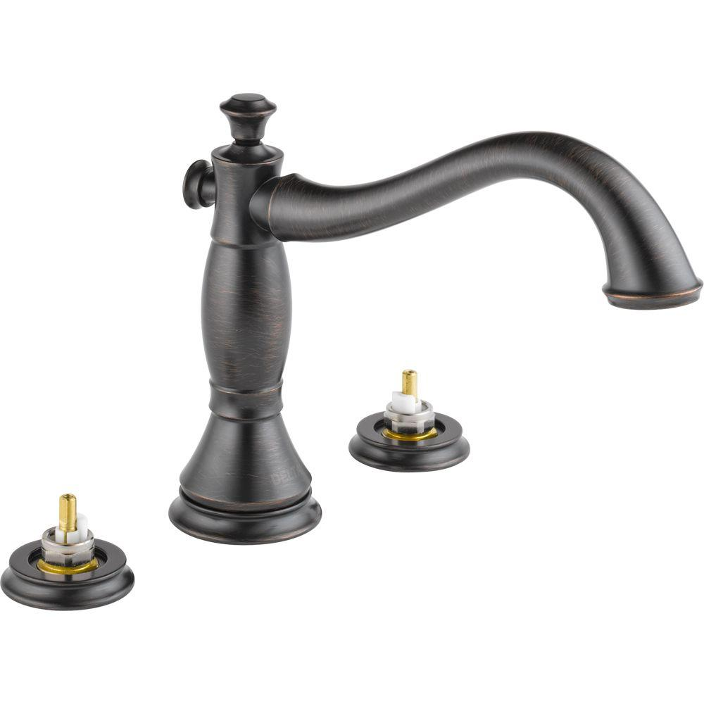 replace roman tub faucet. Delta Cassidy 2 Handle Deck Mount Roman Tub Faucet Trim Kit Only In Venetian