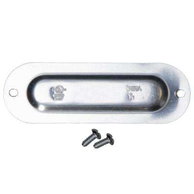 3/4 in. Stamped Steel Cover (25-Pack)