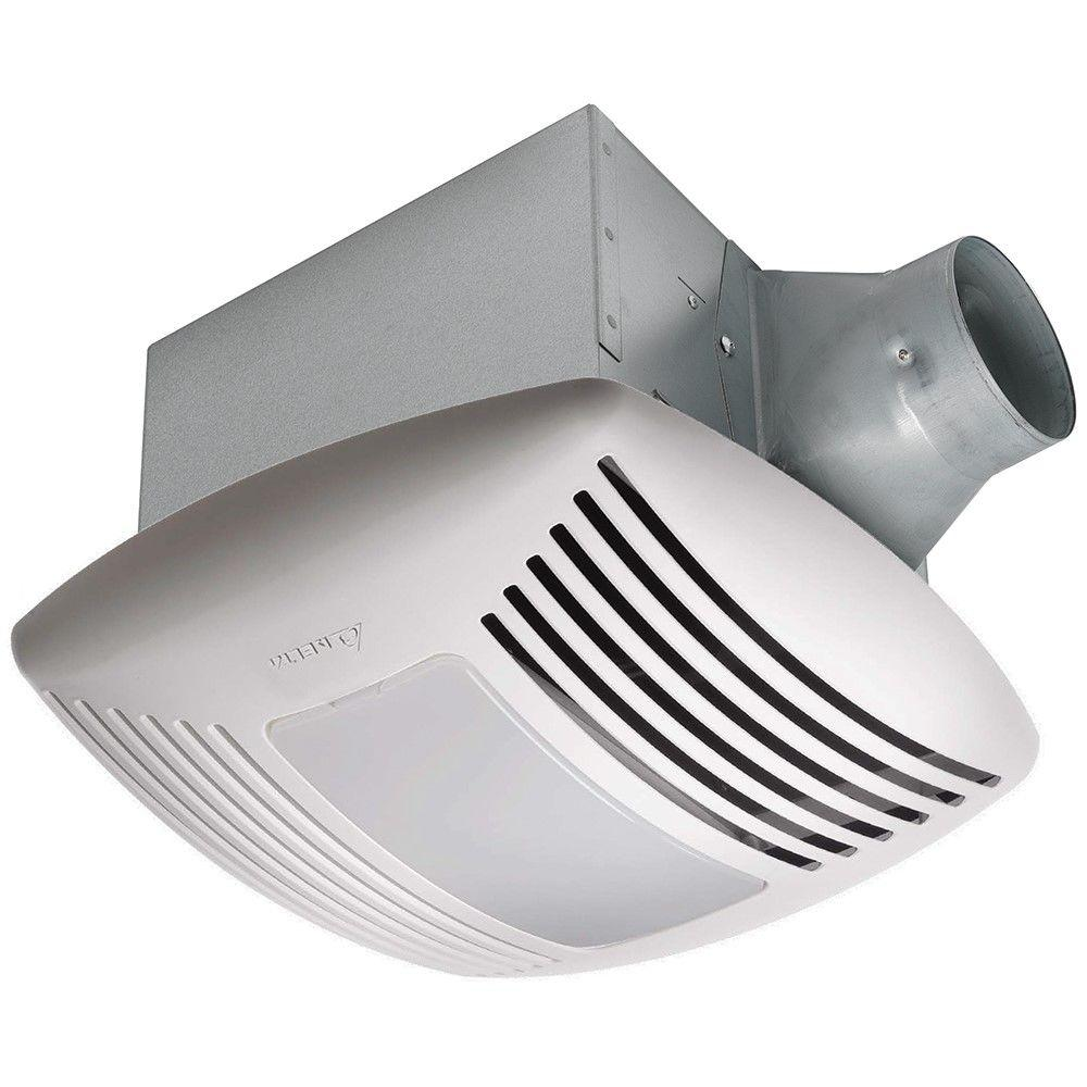Signature G2 110 CFM Ceiling Adjustable Humidity Sensor Bathroom Exhaust Fan  With Night Light